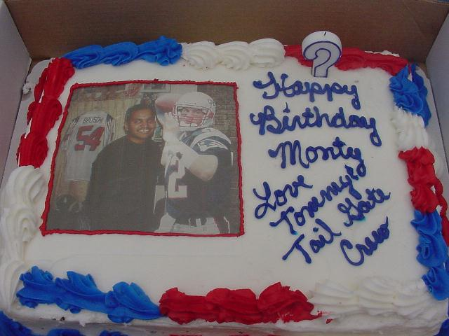 Patriotworldhome Of 2003 Patriots Fan Of The Year Tedy