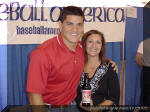 Karen presents Tedy with Bruschi Brew 7.